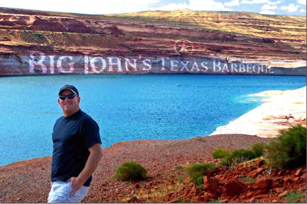 Big John at Lake Powell