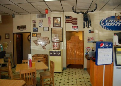 Page Restaurant Interior