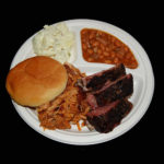 Barbeque Chicken and Rib Plate