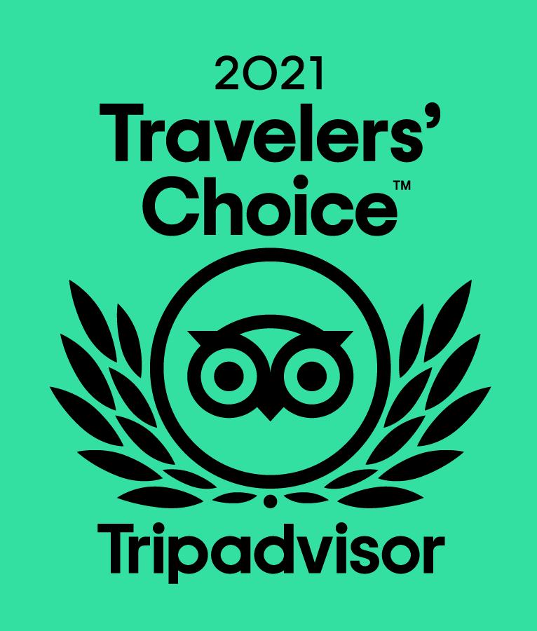 2021 Travelers' Choice Award Winner