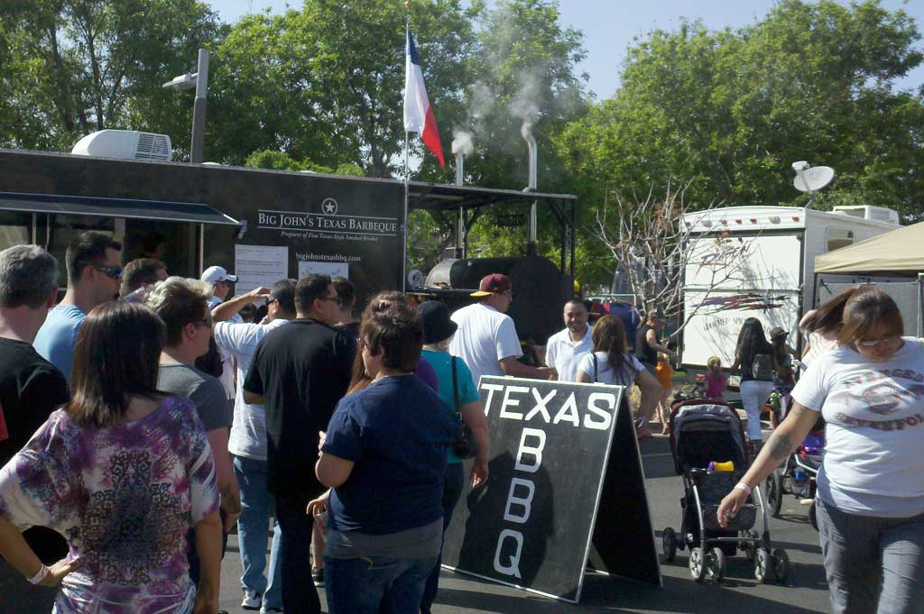 Big John's Texas BBQ Trailer